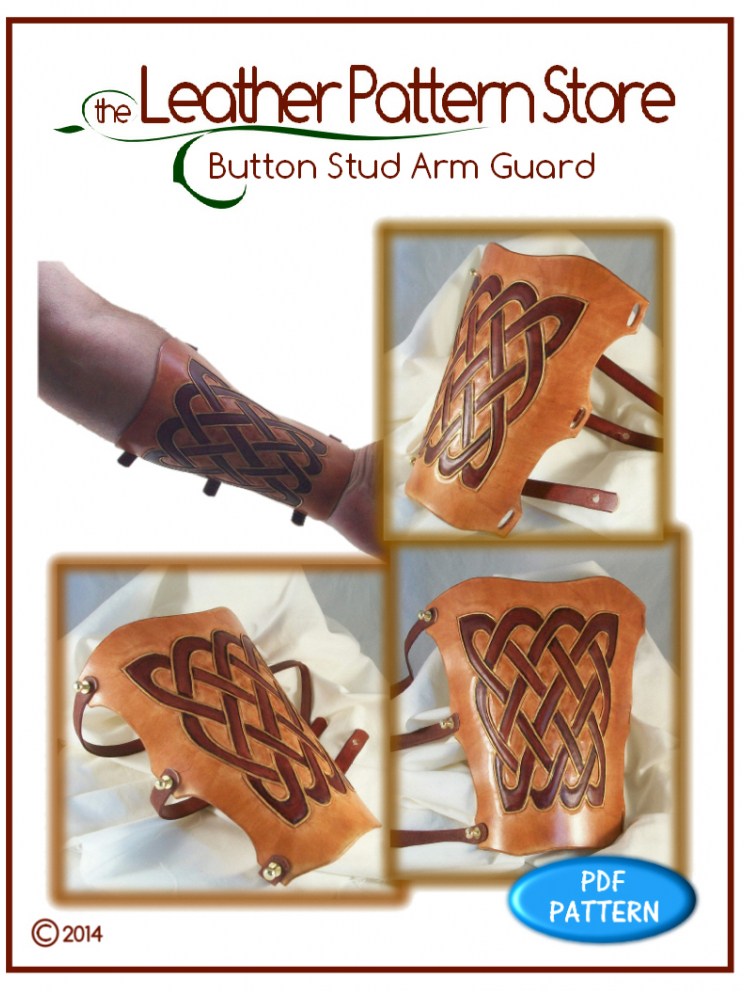 Button Stud Arm Guard - Volume 3 - Issue 1