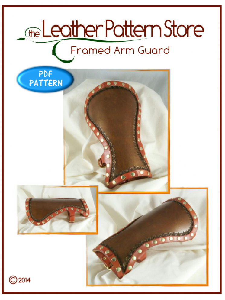 Framed Arm Guard - Volume 2- Issue 4