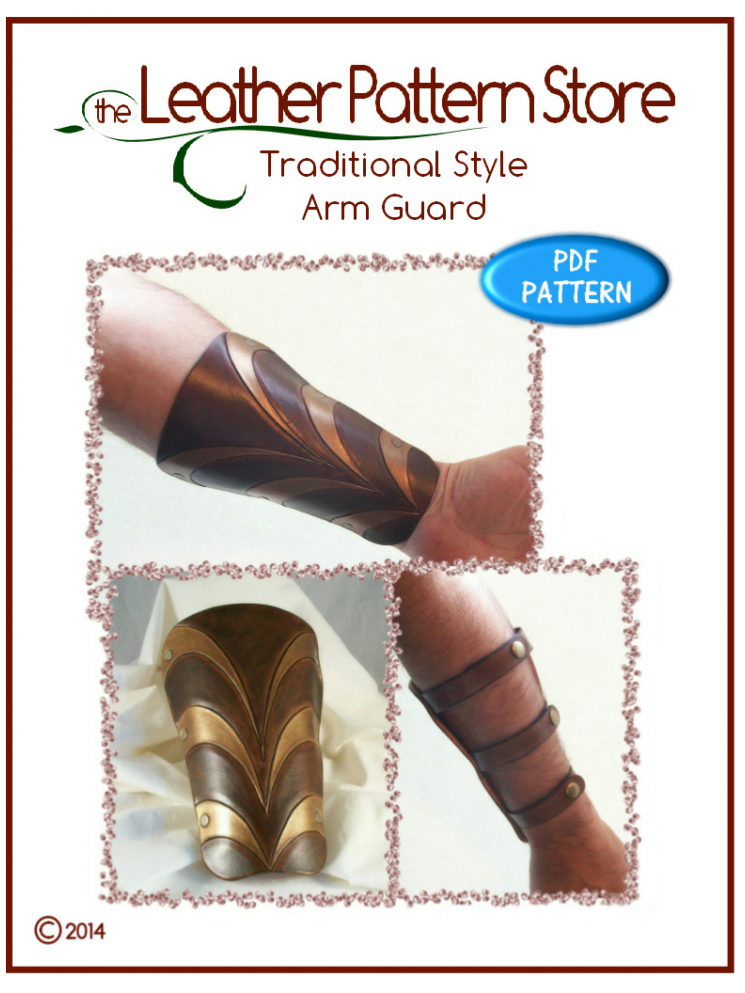 Traditional style Arm Guard - Volume 1 - Issue 2