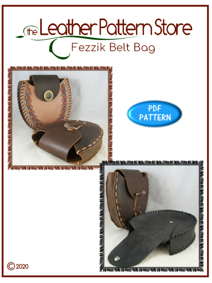 Fezzik Belt Bag - leather template