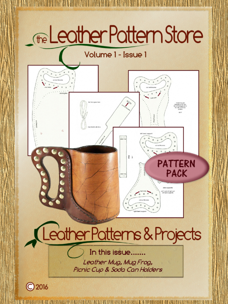 Mug & Cup / Can Holders pattern pack - Volume 1 - Issue 1
