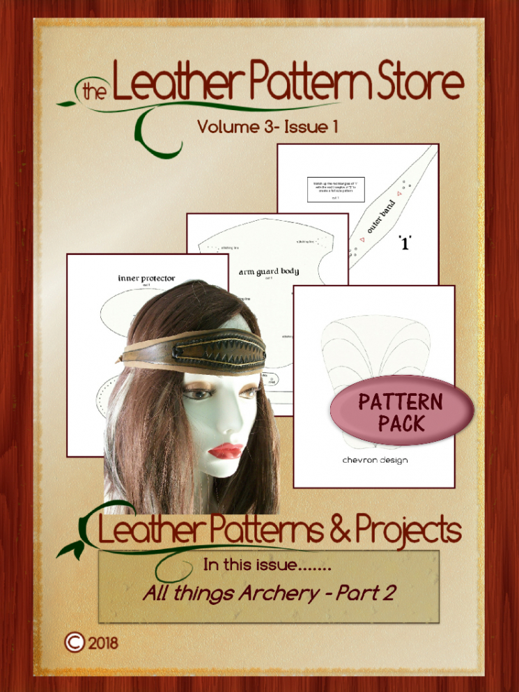All Things Archery pattern pack - Volume 3 - Issue 1