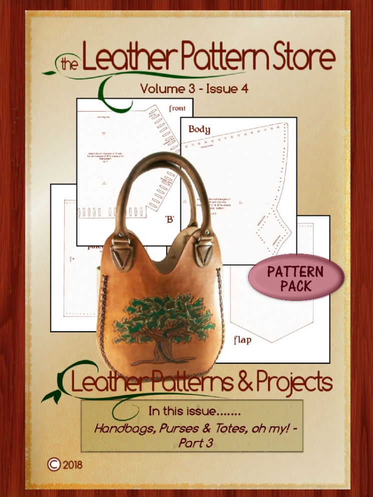 Handbags, purses and totes! Oh My! - Volume 3 - Issue 4
