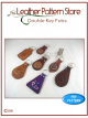 Double Key Fobs - leathercraft pattern