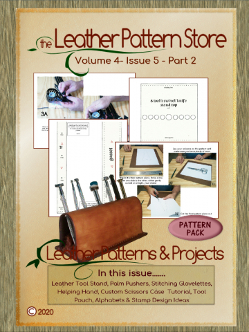 In the Workshop - Leather Patterns & Projects - Volume 4 - Issue 5