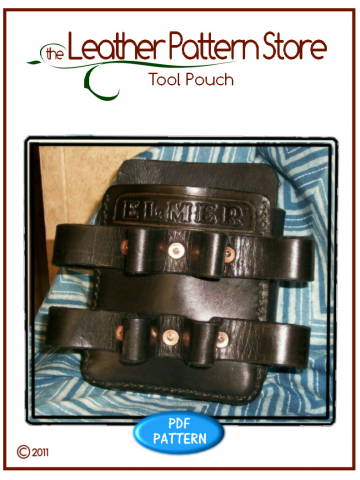 Tool Pouch - leathercraft pattern