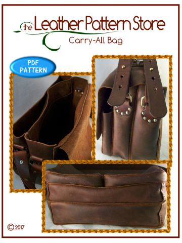 Carry-All Bag - leathercraft pattern