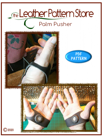 Palm Pusher - leathercraft pattern