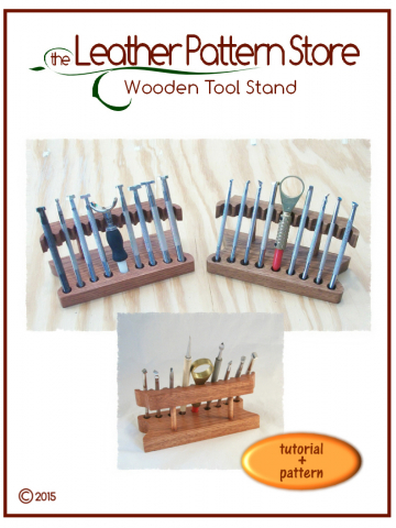 Wooden Tool Stand - tutorial plus pattern