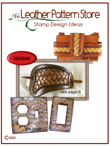 Stamp Design Ideas - designs for leather