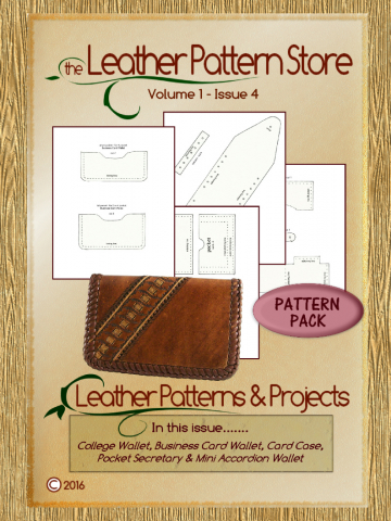 Wallet pattern pack - Volume 1 - Issue 4