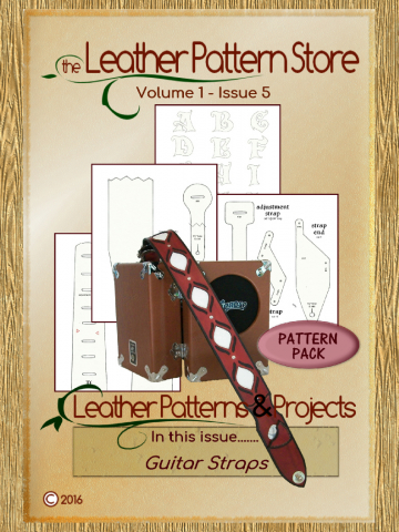 Guitar Strap pattern pack - Volume 1 - Issue 5