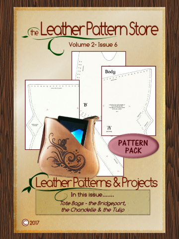 Tote Bags pattern pack- Volume 2 - Issue 6