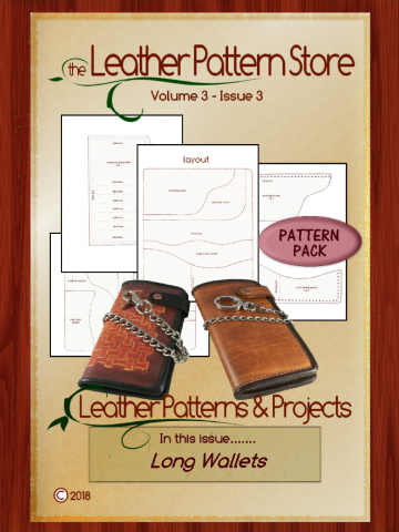 Long Wallet pattern pack - Volume 3 - Issue 3