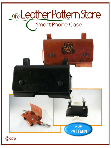 Smart Phone Case - leathercraft pattern