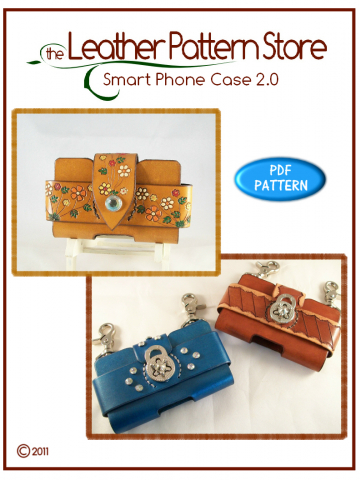 Smart Phone Case 2.0 - leathercraft pattern