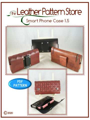 Smart Phone Case 1.5 - pattern for leather