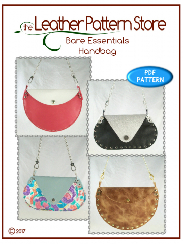 Bare Essentials Handbags - leather pattern