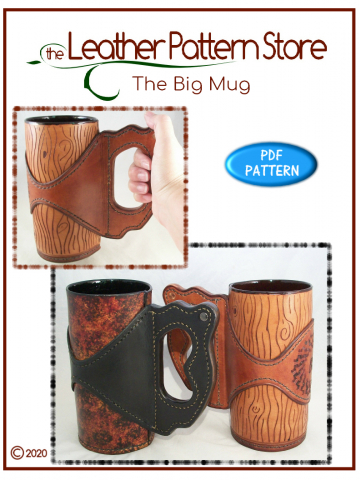 The Big Mug - leathercraft pattern