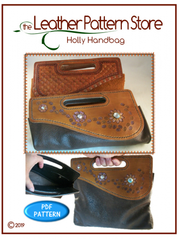 Holly Handbag - leathercraft pattern