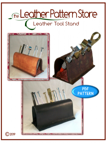 Leather Tool Stand - leathercraft pattern