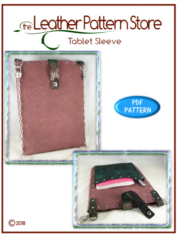 Tablet Sleeve - digital leathercraft pattern